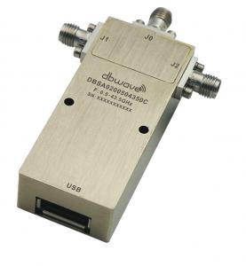 Image Commutateurs à diode Pin 0.5-43GHz SP2T Pilotage USB 4