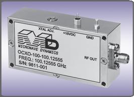 Image Oscillateurs, DRO et PLDRO jusqu'à 40GHz